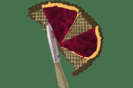 Tarte aux myrtilles et framboises