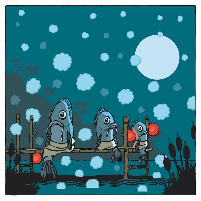 Le poisson vapeur à la vapeur avec ciboule : taoïste 1