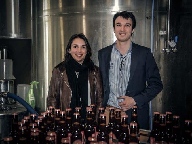 Ardennais d'adoption, Charles-Antoine Clabaux, sa sœur et son père reprennent il y a 2 ans la brasserie Ardwen - © 180°C - Photographie