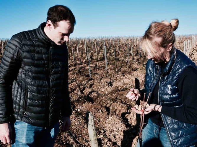 Pour le sommelier Thomas Noble il n'y a pas de doute : «au Château de Béru, les vins sont très définis en fonction des parcelles, il y a de vraies différences.»  - © 180°C - Photographie Manu Rodriguez