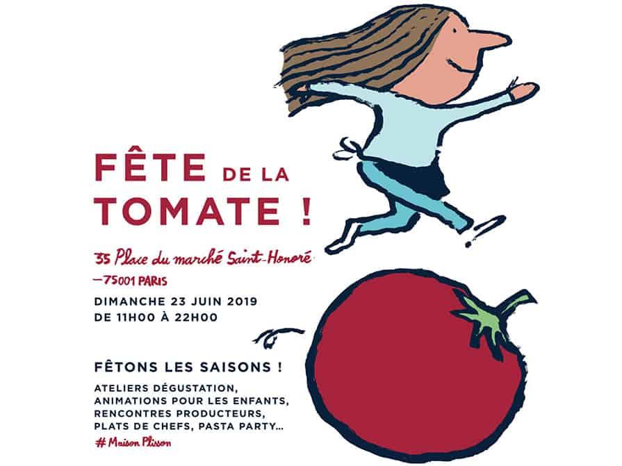 Quand la Maison Plisson fête la tomate !
