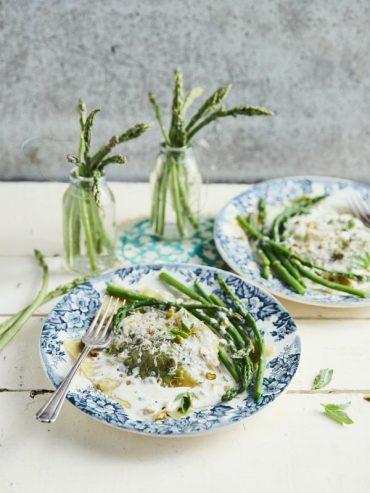 Raviolis aux asperges vertes 5