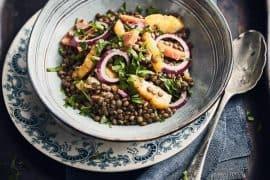 Salade de lentilles au haddock 3
