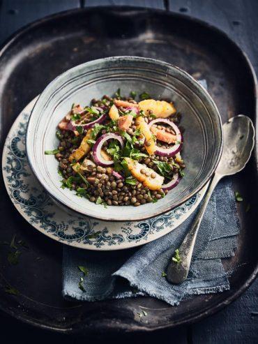 Salade de lentilles au haddock 8