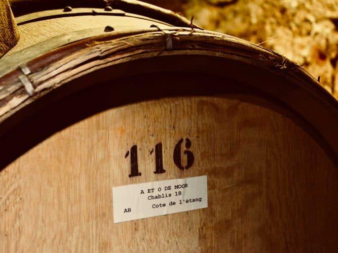 Le fût 116 dans la cave des De Moor - © 180°C - Photographie Manu Rodriguez