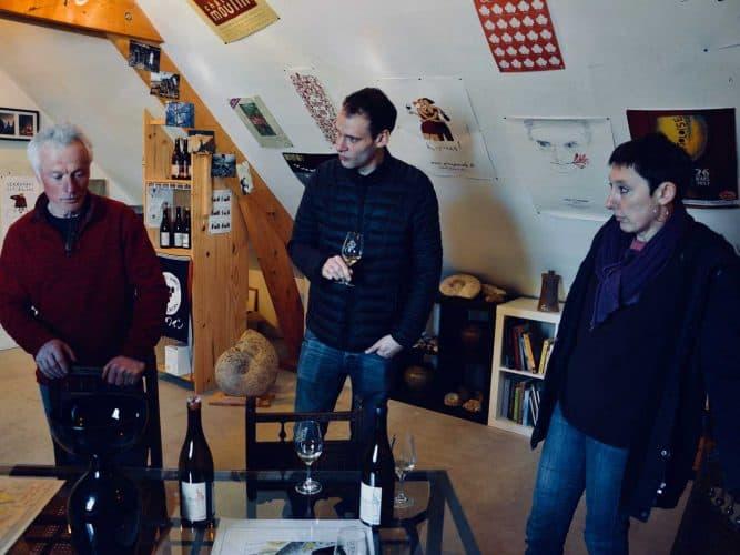 Olivier De Moor, Thomas Noble et Alice en pleine dégustation - © 180°C - Photographie Manu Rodriguez
