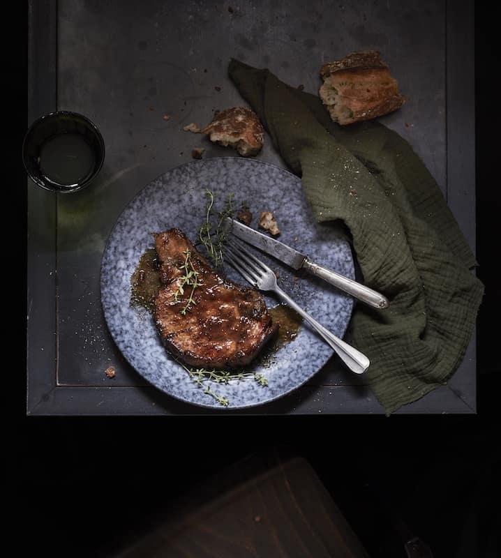 cote de porc recette