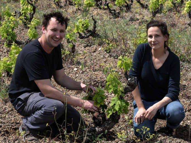 Paul Meunier et Lucile Morin y ont créé leur domaine en 2014, à partir de vignes rachetées à des coopérateurs - © Photographie Antonin Bonnet pour Viamo