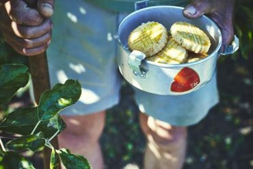 Infusion glacée romarin et fleur d'oranger et sablés au romarin 4