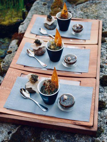 Les amuse-bouches où la lentille du Puy est reine. - © 180°C - Photographie Manu Rodriguez