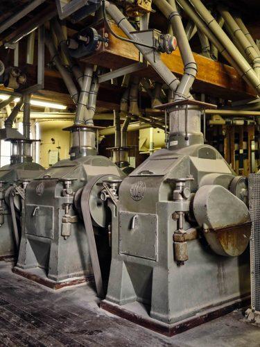 Les entrailles du moulin - © 180°C - Photographie Eric Fénot