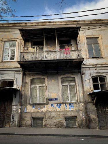 Les rues de Tbilissi toujours - © 180°C - Photographie Pauline Dupin-Aymard