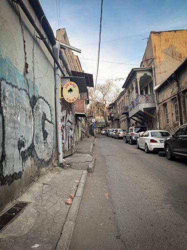 Les rues de Tbilissi encore... © 180°C - Photographie Pauline Dupin-Aymard