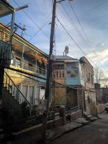 Dans les rues de Tbilissi - © 180°C - Photographie Pauline Dupin-Aymard