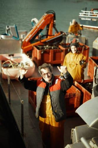 Sylvain Huchette, patron heureux de l'aventure France Haliotis - © 180°C - Photographie Patrick Swirc - Texte Olivier Pascuito