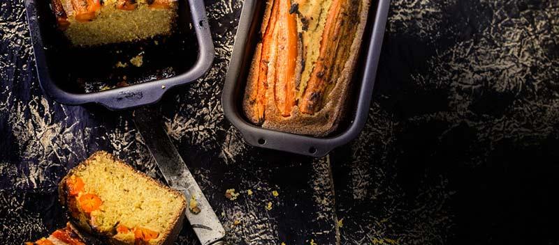 Pain de maïs aux carottes