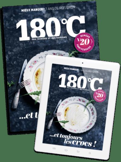 180°C n°20 offre spéciale <br>papier & numérique