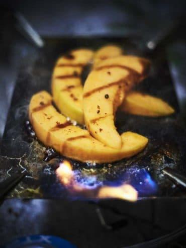 Recette Melon au barbecue
