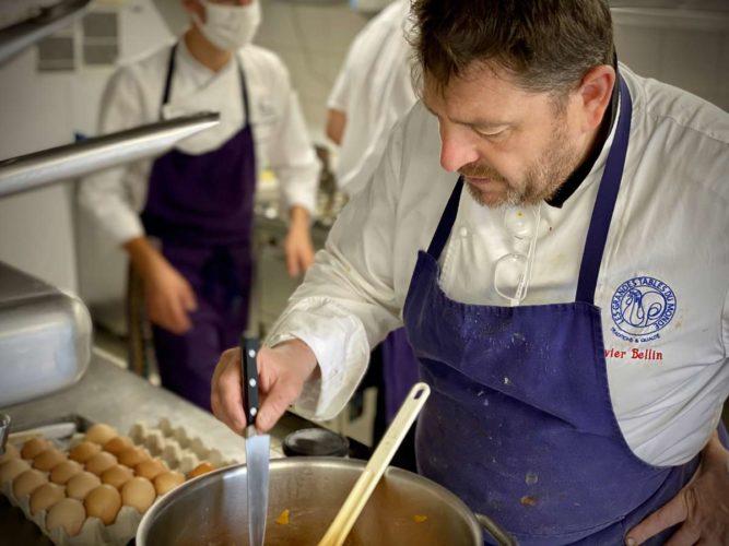 Le chef, Olivier Bellin - © 180°C - Photographie Emmanuel Laveran