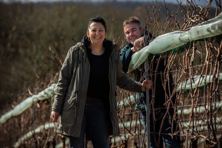 Sophie et Julien Ilbert,vignerons du domaine Combel-la-Serre - © Viamo - Photographie Antonin Bonnet