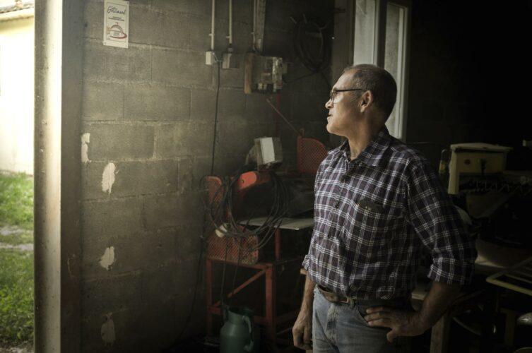 Didier Ferreint, producteur d'asperges, amis pas que... - © 180°C - Photographie Olivier Pascuito