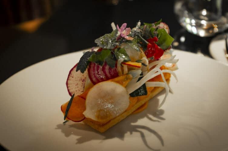La tarte aux légumes, l'emblème de la maison Bottero - © 180°C - Photographie Olivier Pascuito