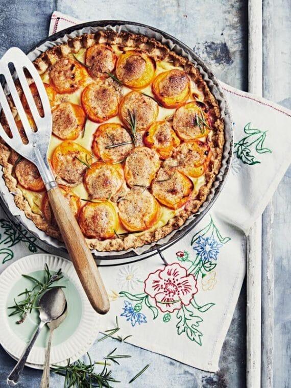 Tarte aux abricot et crème d'amande