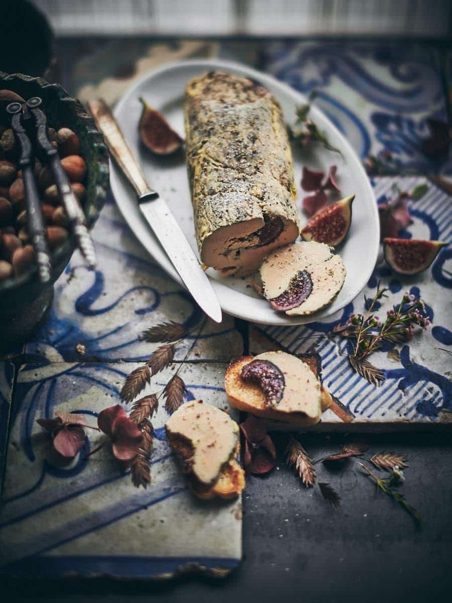 Foie gras aux figues fraiches