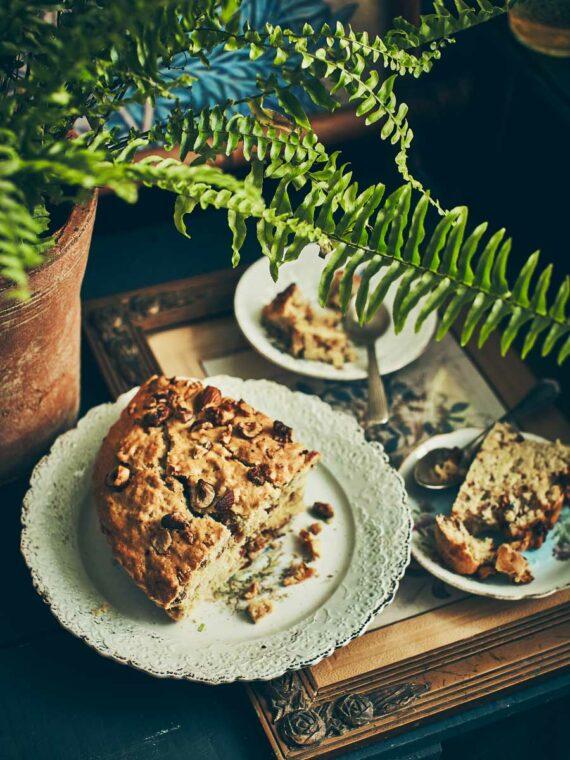 Gâteau aux amandes, noix et noisettes