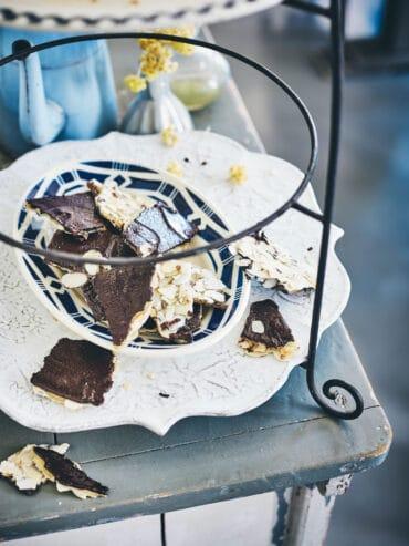 Friandises chocolat-amandes et caramel