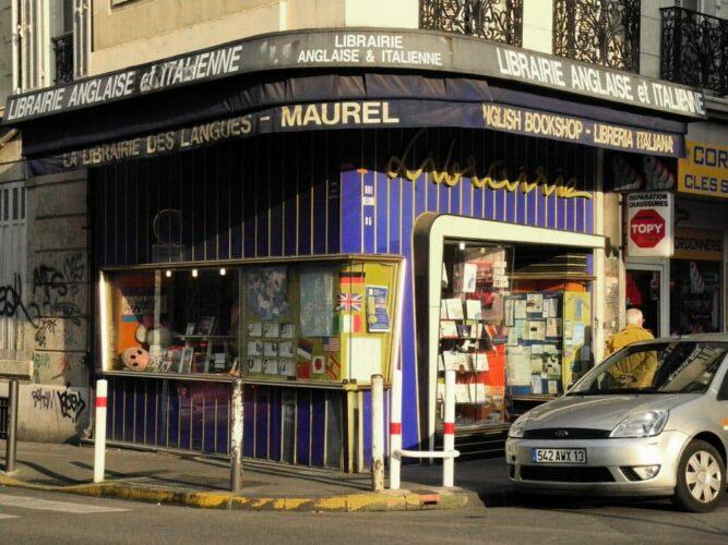 L'ancienne librairie Maurel.